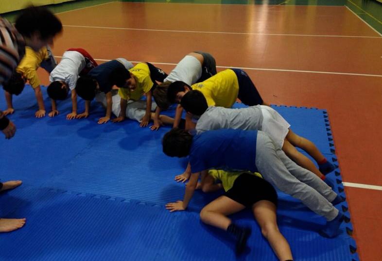 Corso Judo 2013-2014 con Stefania & Alessandra del Geesink Team