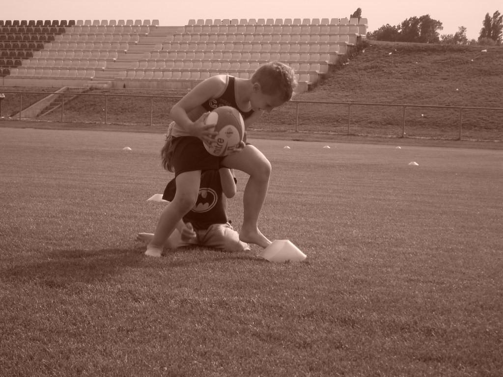 CORSO di Rugby 2009 - Gruppo PICCOLI- con Federico Freddi c/o campo Collegarola