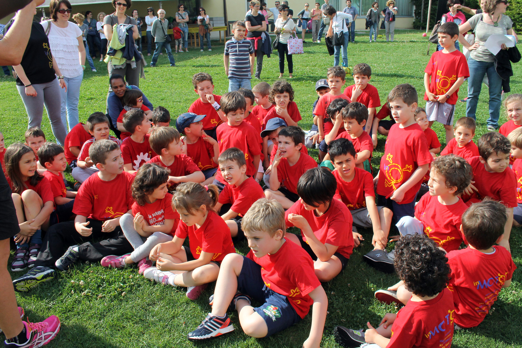 """""""11 anni InMo.To."""" festa conclusiva del Progetto InMo.To. - campo Rugby 26 maggio 2014"""