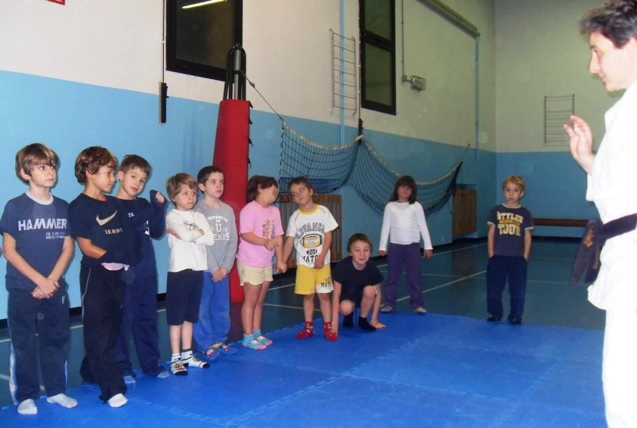 Corso di Judo ott-dic 2010 - Saluto
