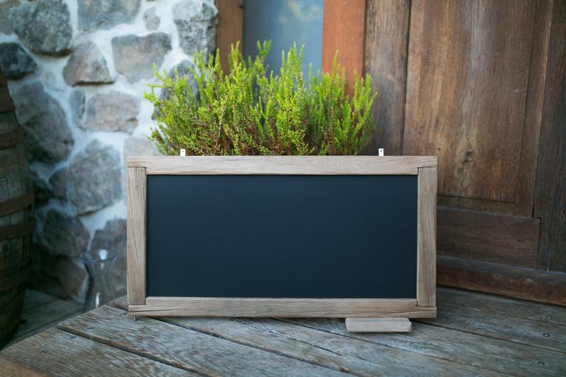 Tafel aus Holz - Eiche