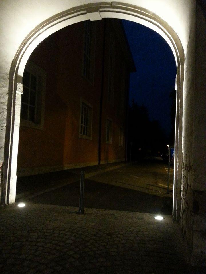 Torbogen Trinitatis Kirche