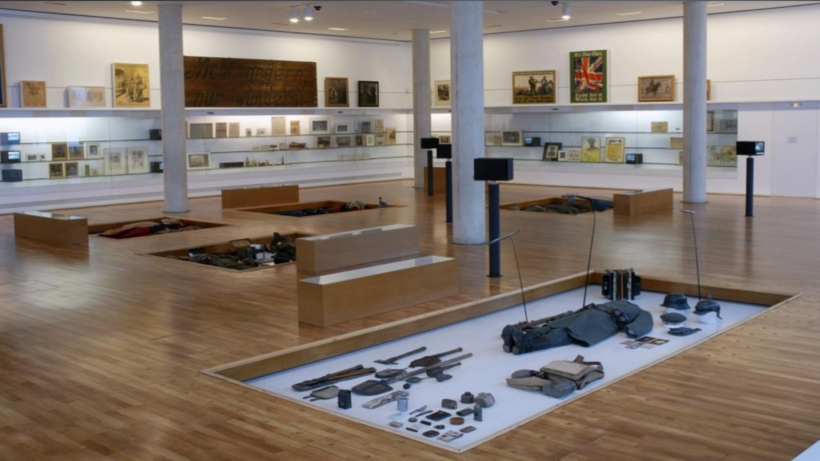 世界大战历史博物馆(Histoire de la Grande Guerre), 建立与1992年,法国索姆湾,是第一个放眼世界,致力于研究和展示一战历史的法国博物馆