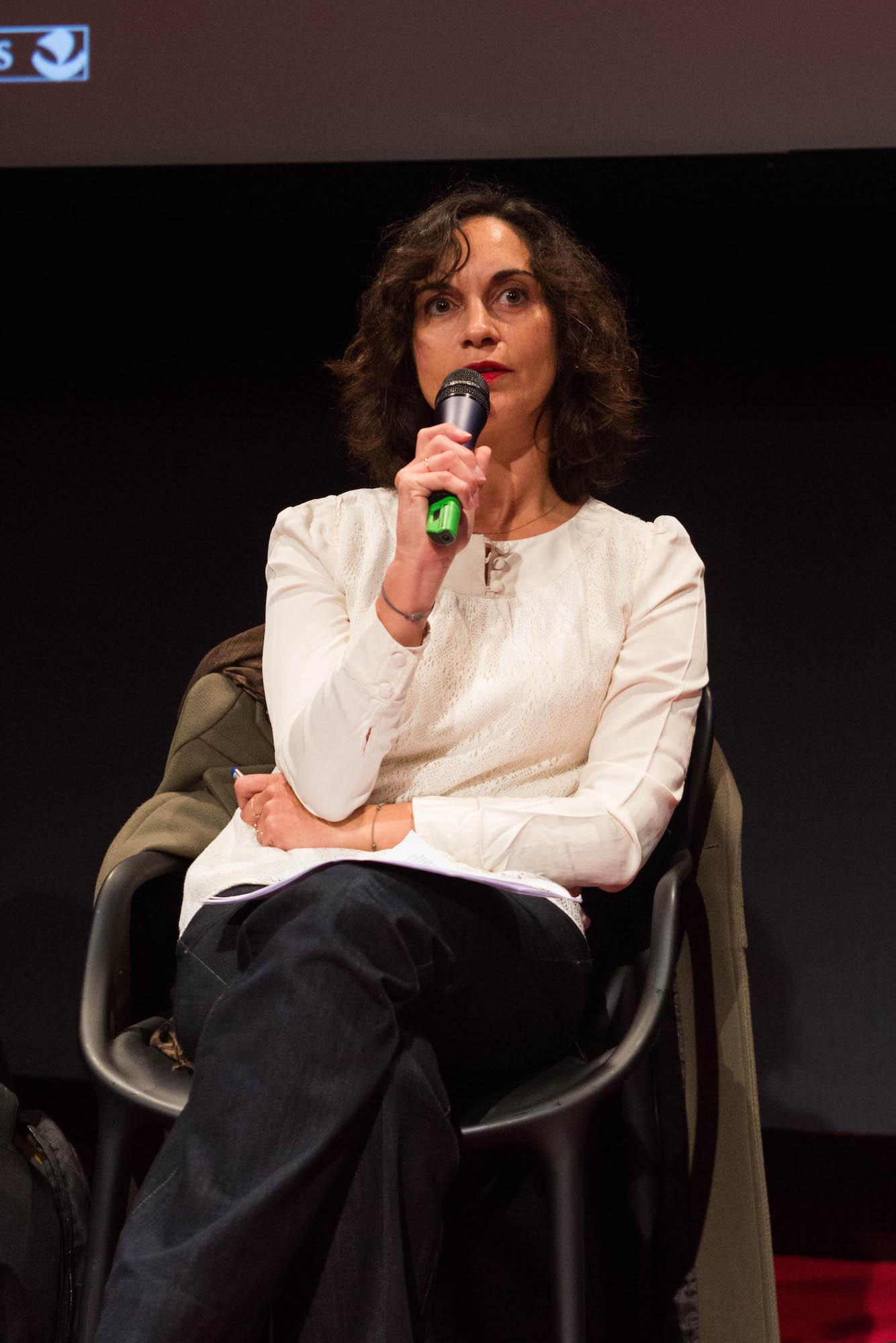 ParisDOC – 公共研讨 2015 // Caroline Béhar – 法国5台// Carmen Leroi ©
