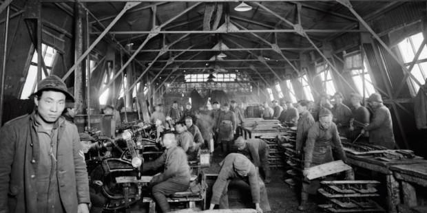一战中国劳工