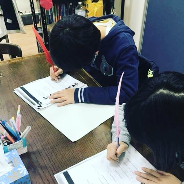 子供英会話クラス(小学4年生)