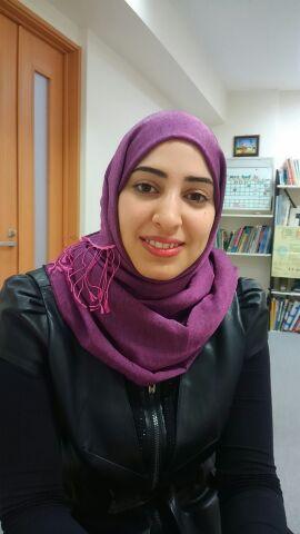 アラビア語講師 Sarah