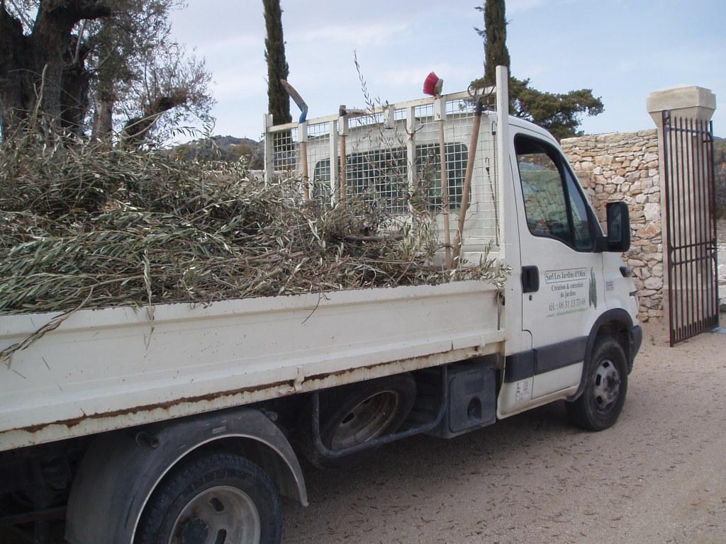 Transport des déchêts verts