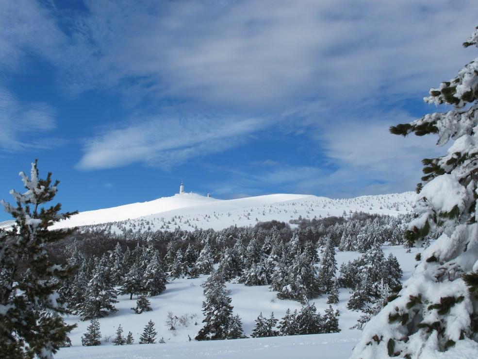 loucardaline-bedoin-ventoux-chambre d hotes-neige-rando raquettes