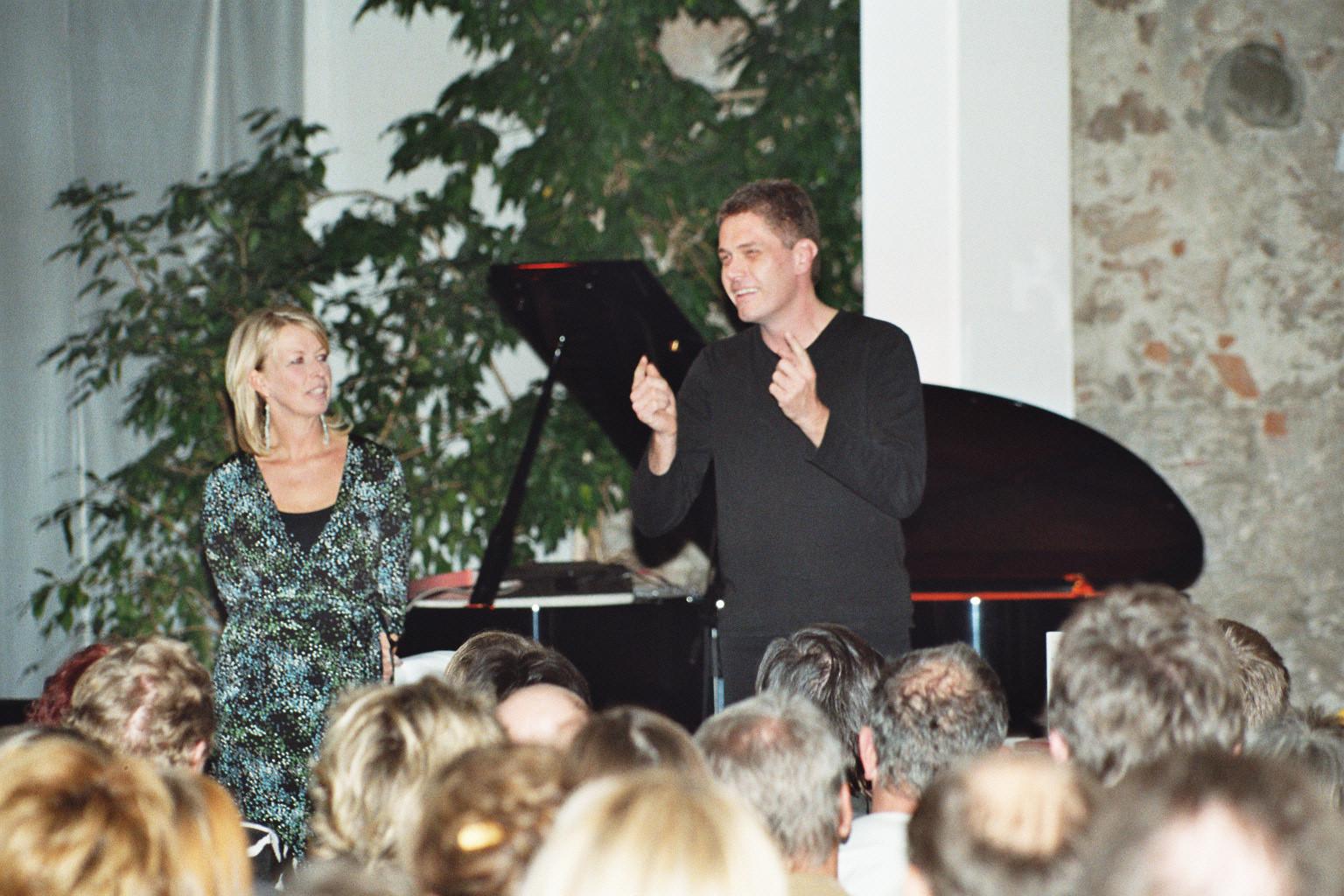 Peter Stich und Ines Pfundner