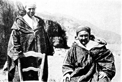 Abd el Krim (rechts) mit seinem Bruder: Freiheit und Selbstbestimmung