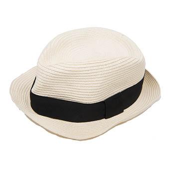 30er Jahre Hut weiß