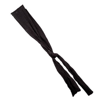 Ninja oder Kungfu Haarband schwarz