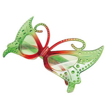 Schmetterling Brille