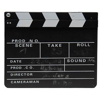 Filmklappe inkl Kreide