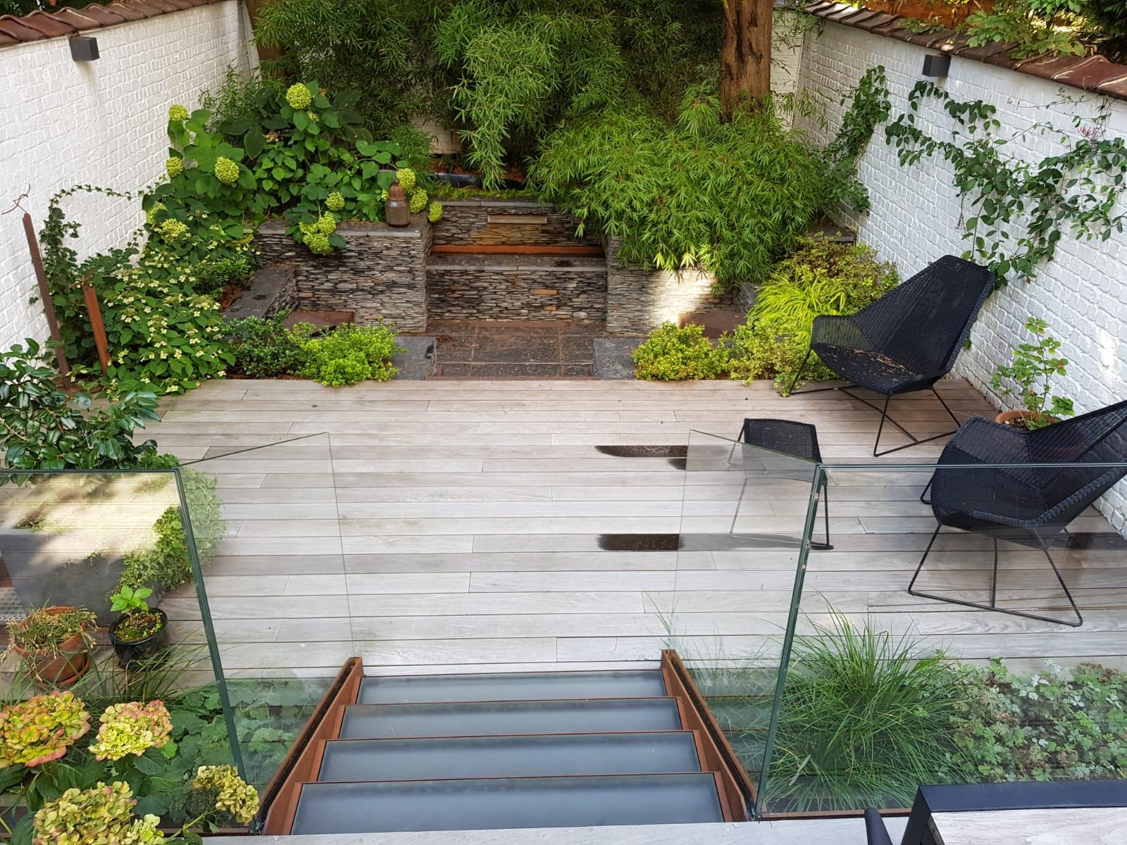 Amenagement jardin bruxelles paysagiste bruxelles - Amenagement de jardin et terrasse ...