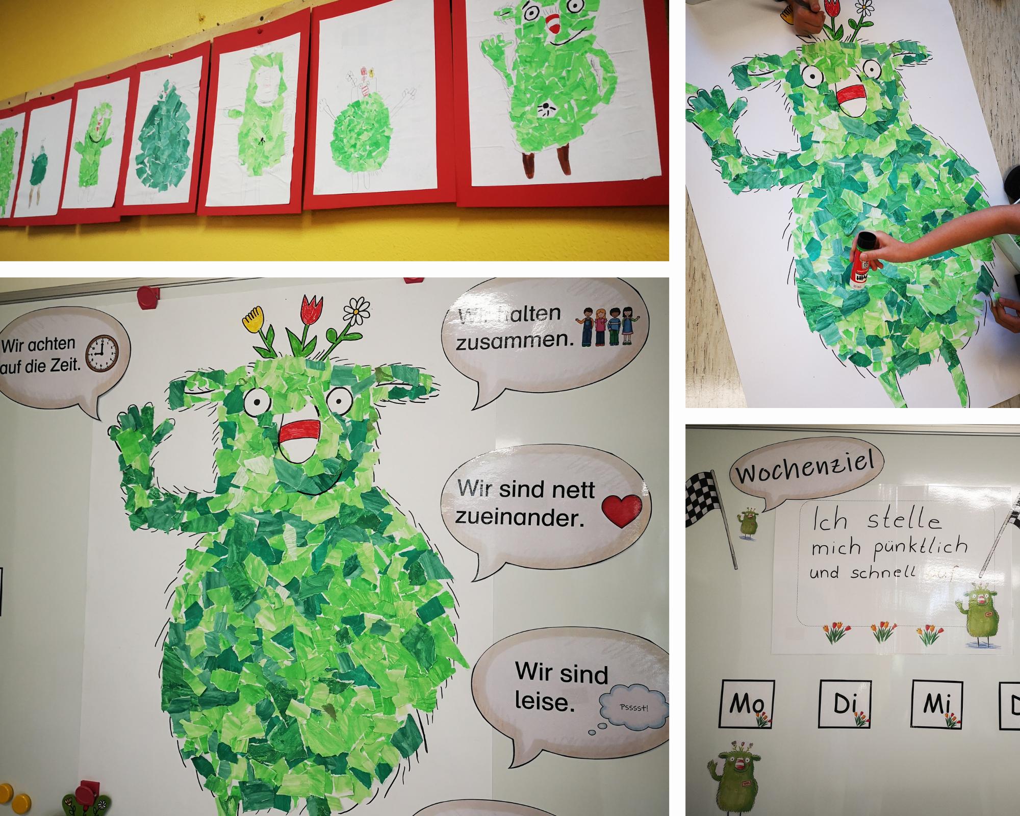 Das kleine WIR - ein Projekt zur Stärkung der Klassengemenschaft.