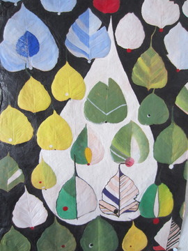 Acrylgemälde Auroville