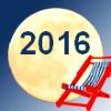 Infografiken zu den Mondpausen im Jahr 2016 - Übersicht