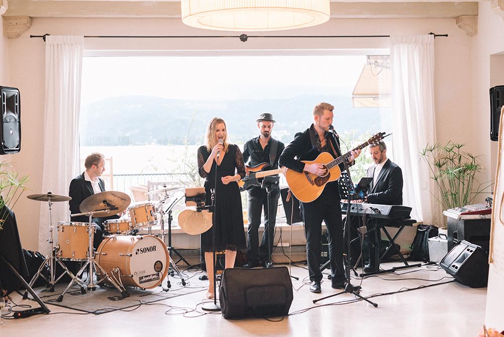 Hochzeitsband in der Steiermark