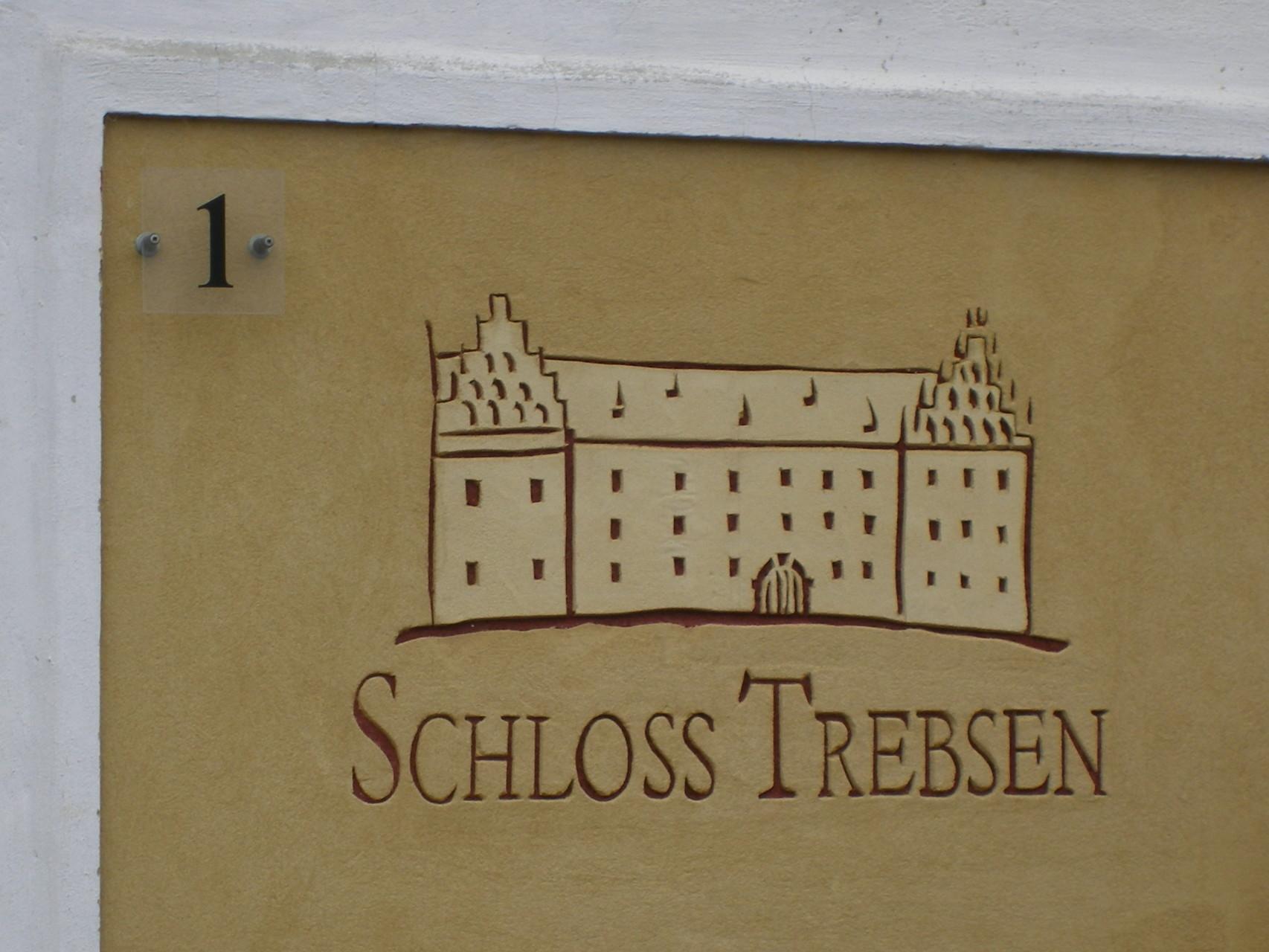 Schloss Trebsen Buchrose Glasfedern