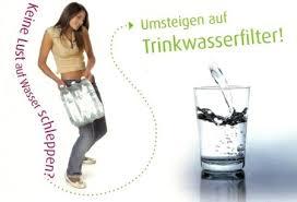 Wasser zu filtern ist Umweltfreundlicher als Wasserflaschen zu kaufen.