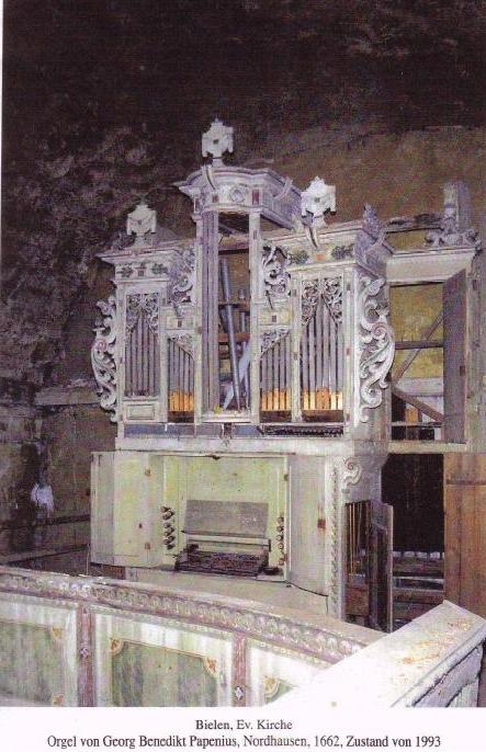 Unsere Orgel...