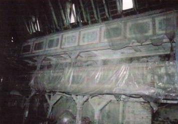 Kircheninneres: nördliche Emporen