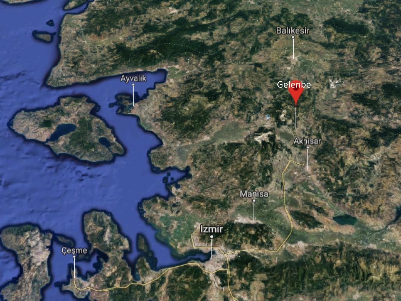 GPS: 39° 10' 19.1892'' N / 27° 50' 34.3140'' E