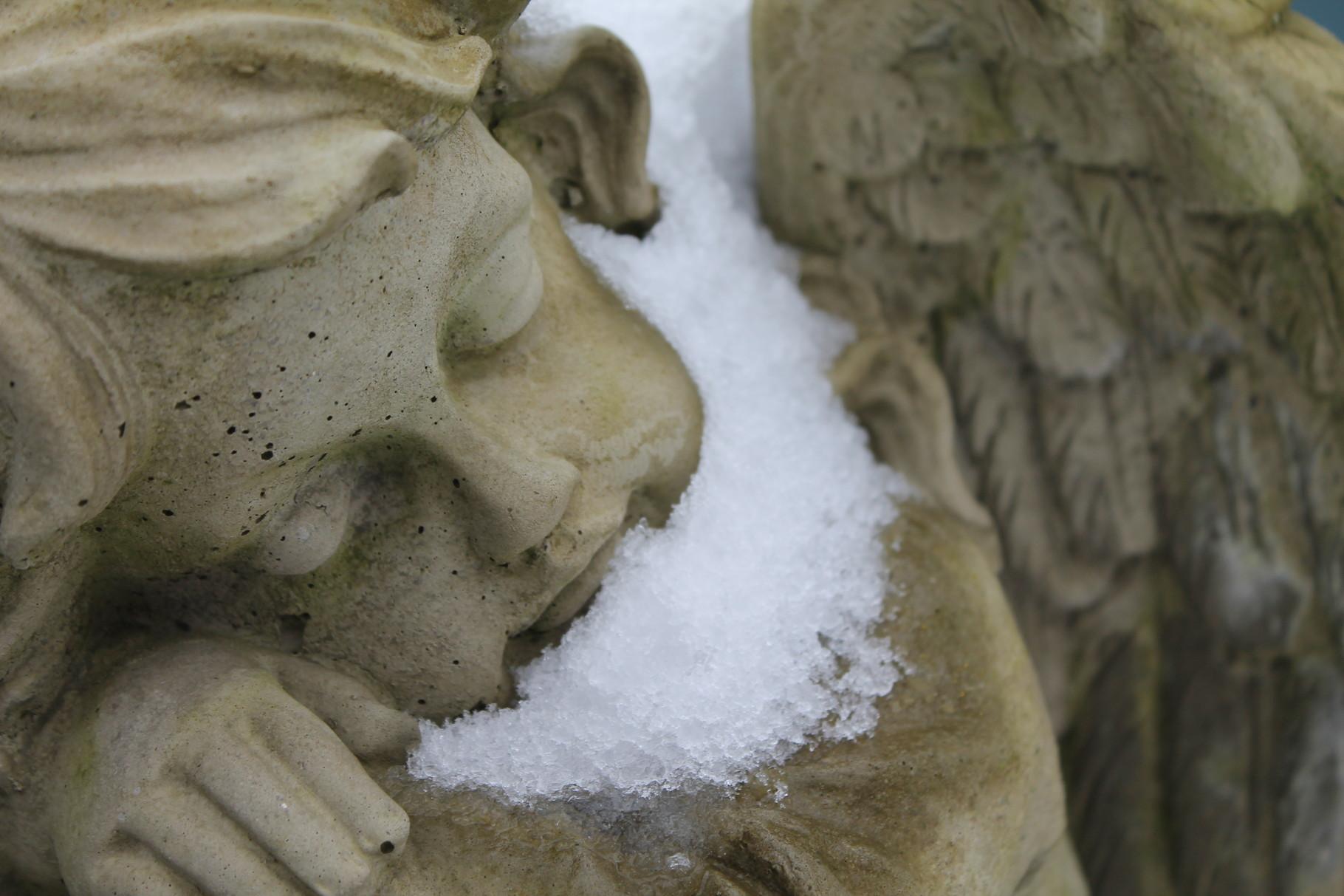 Engel begleiten uns auch im Winter ...