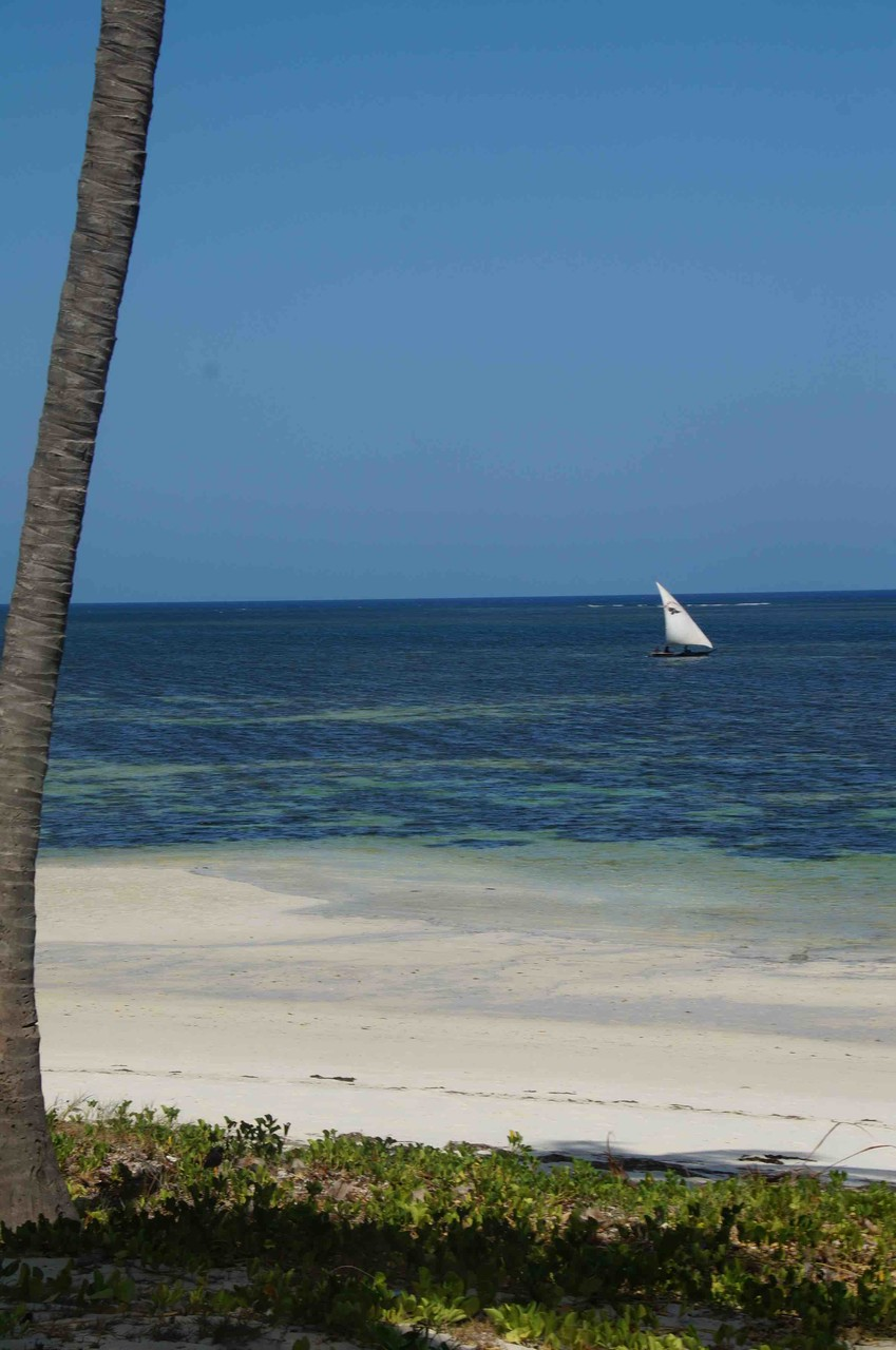 Indischer Ozean bei Mombasa