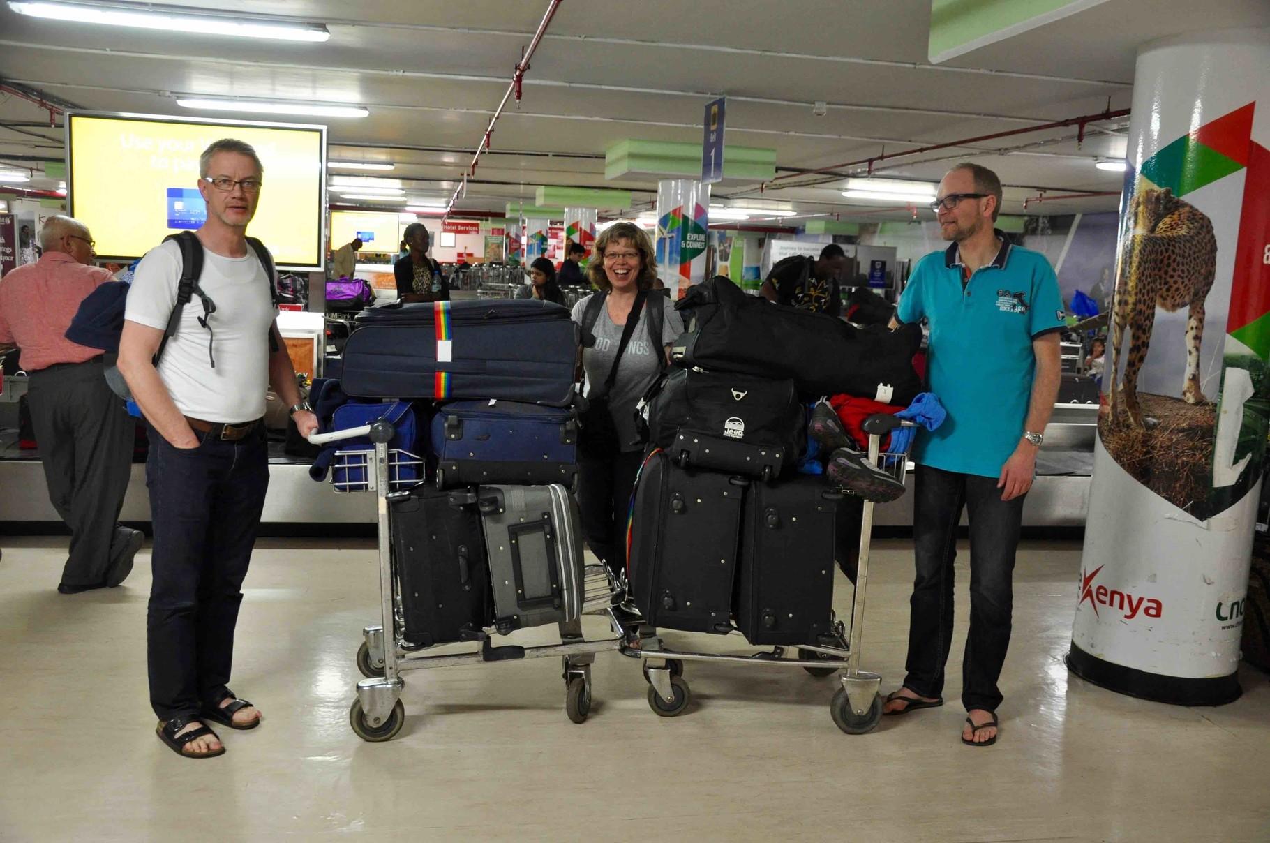 """Mit ein """"klein wenig"""" Gepäck gehts auf große Reise"""