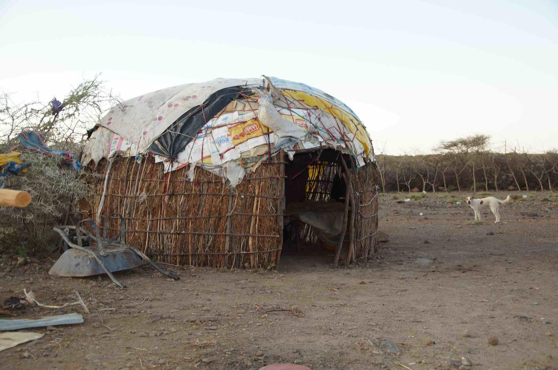 Wohnhaus der Samburu (Manyatta)
