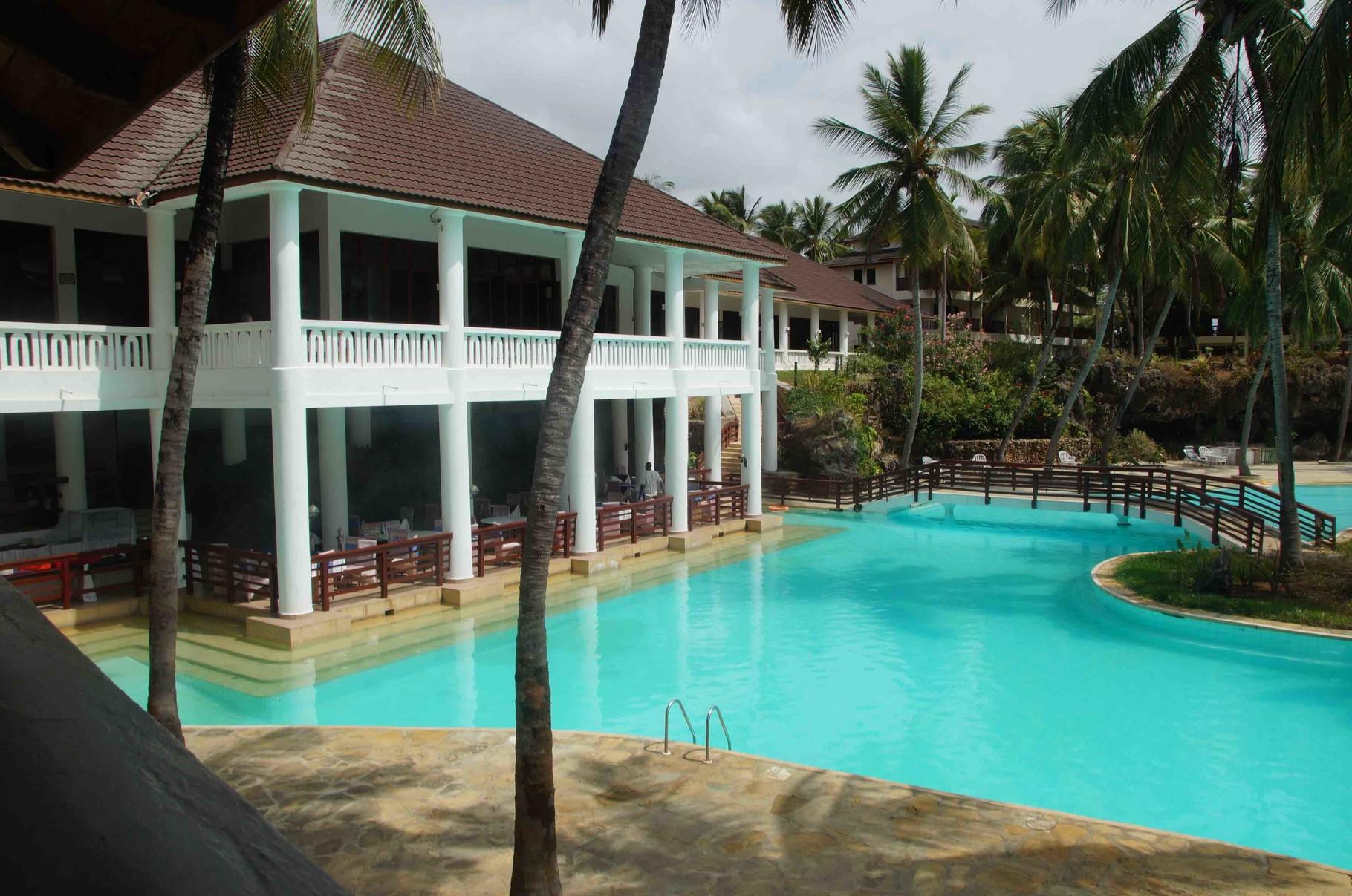 unser Hotel in Mombasa