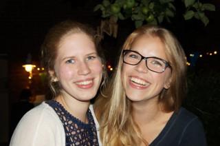 Kathi und Julia