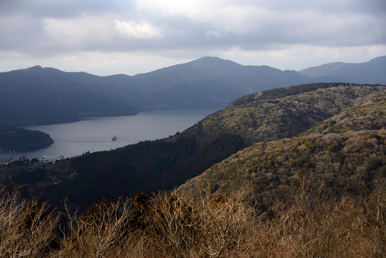 箱根大観山から芦ノ湖