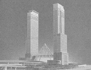 なんかコンセプトが夢洲タワービルにそっくり・・・