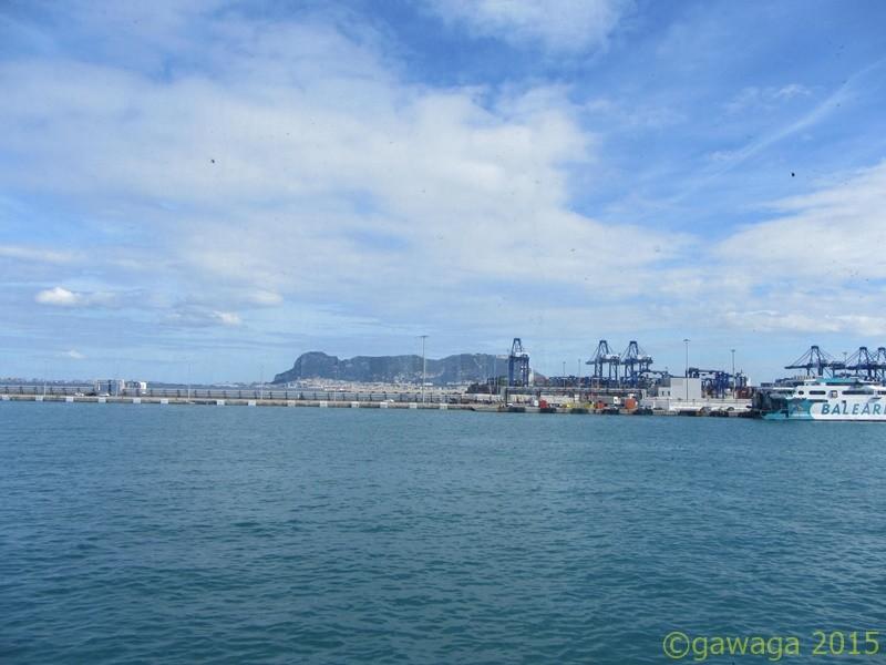 hinaus aus dem Hafen von Algeciras