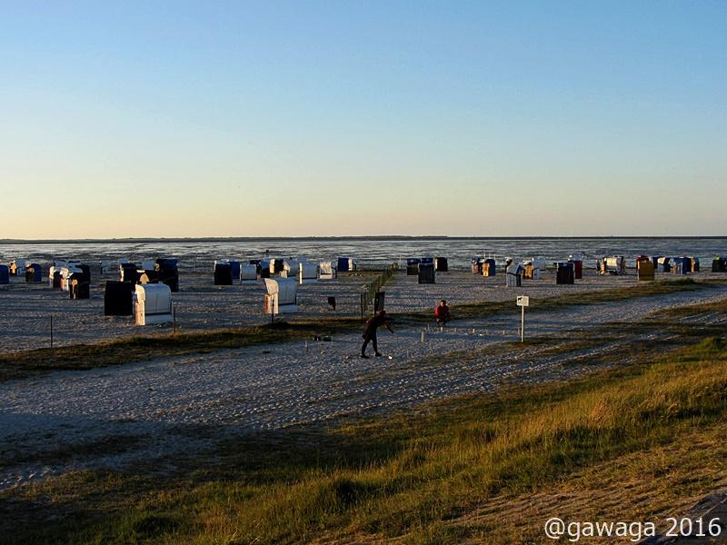 Strand in Harlesiel