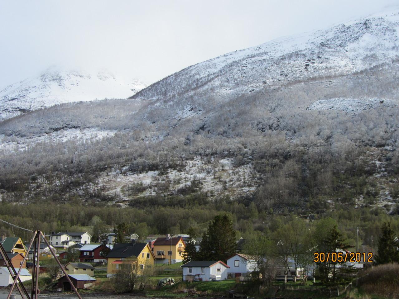 Blick nach Olderdalen