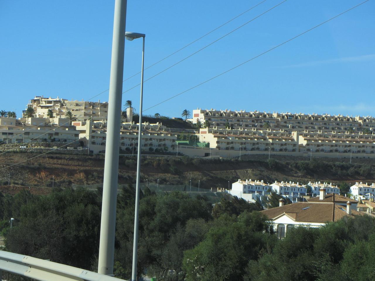 Urbanisationen im Hinterland