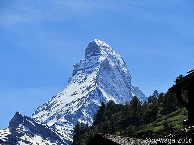 und das Matterhorn in voller Schönheit