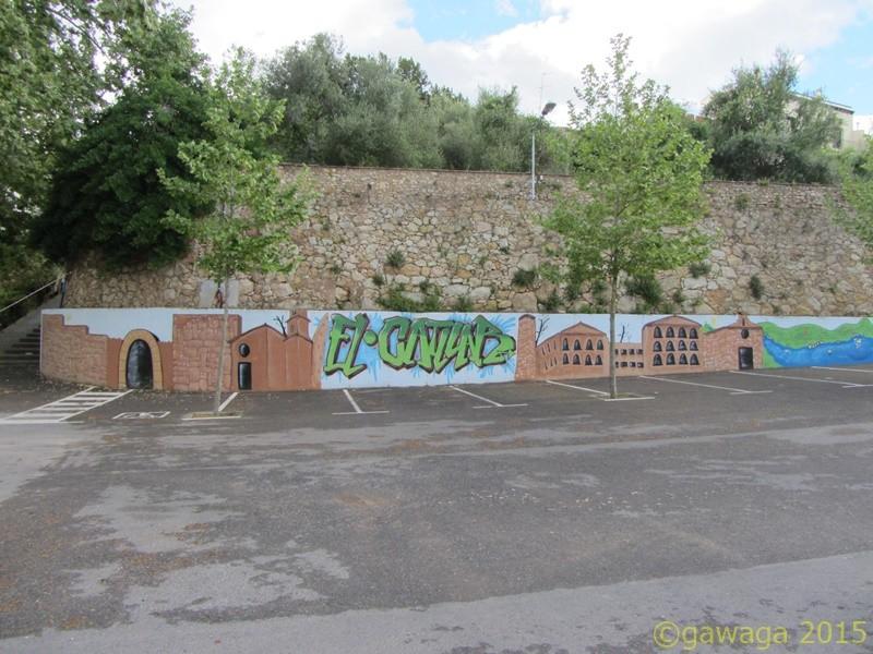 Wandmalereien in Catllar