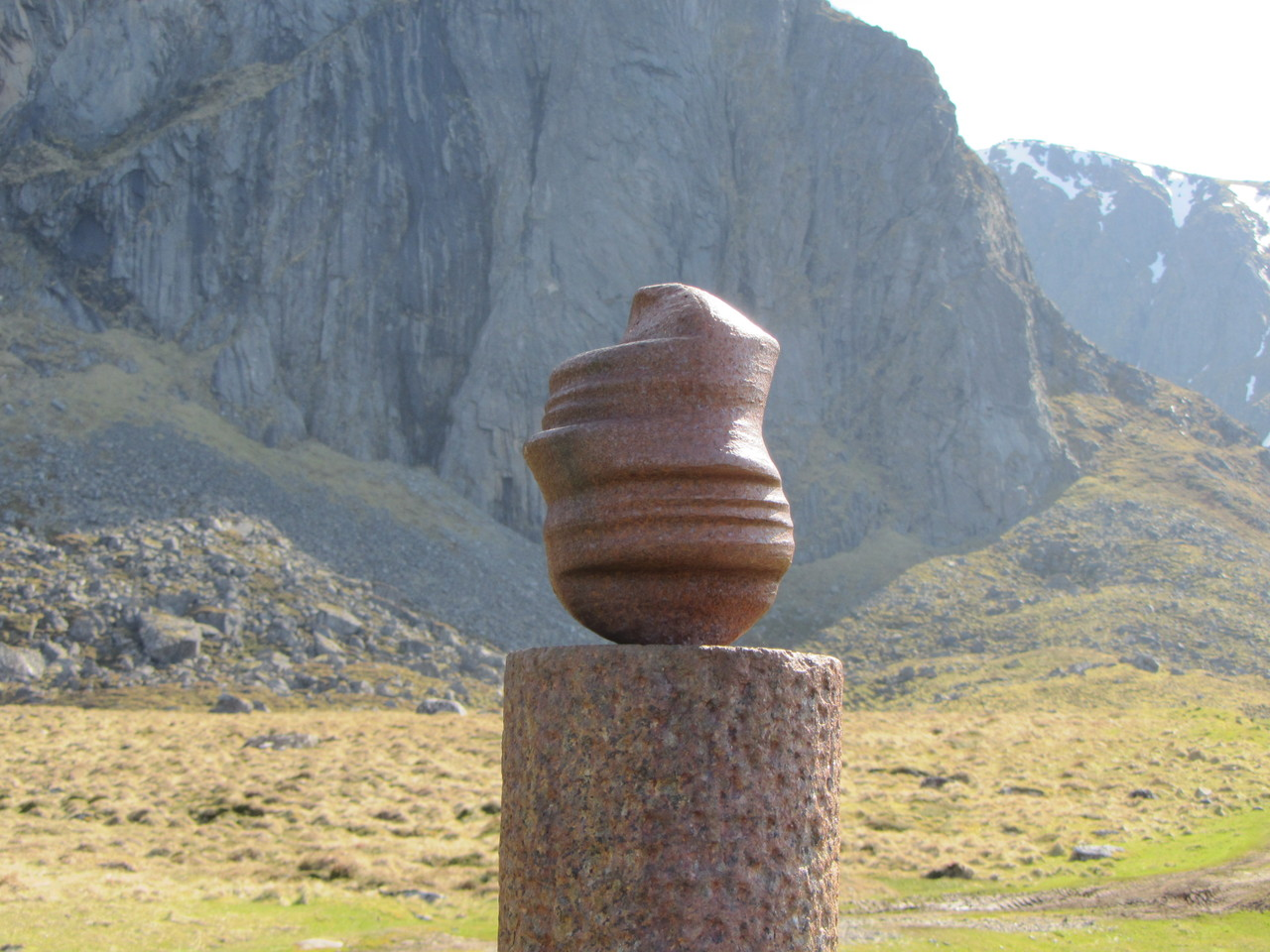 Skulptur im Skulpturenpark