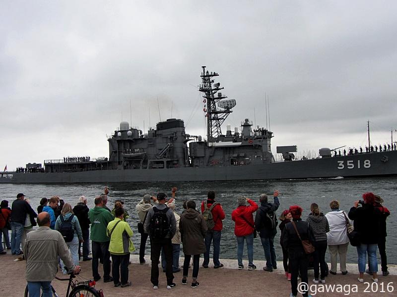 ein Japanisches Kriegsschiff