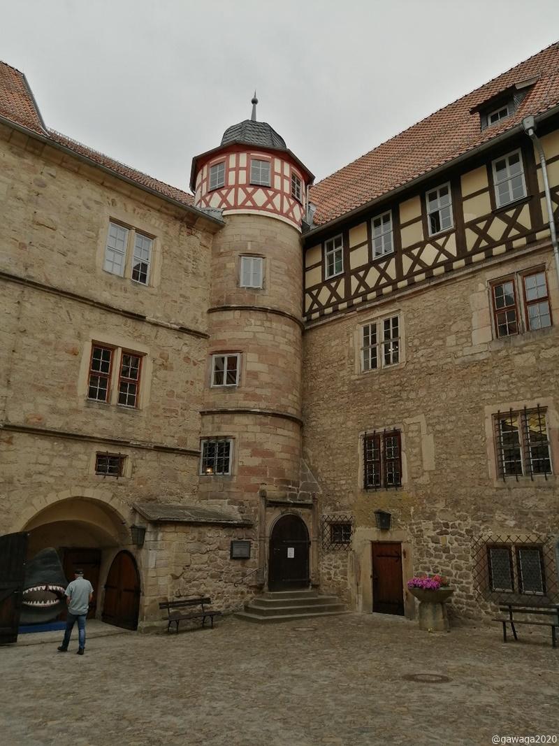 Schlosshof Schleusingen
