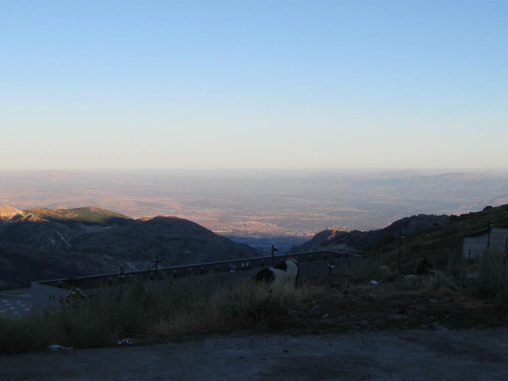 Blick in Richtung Granada