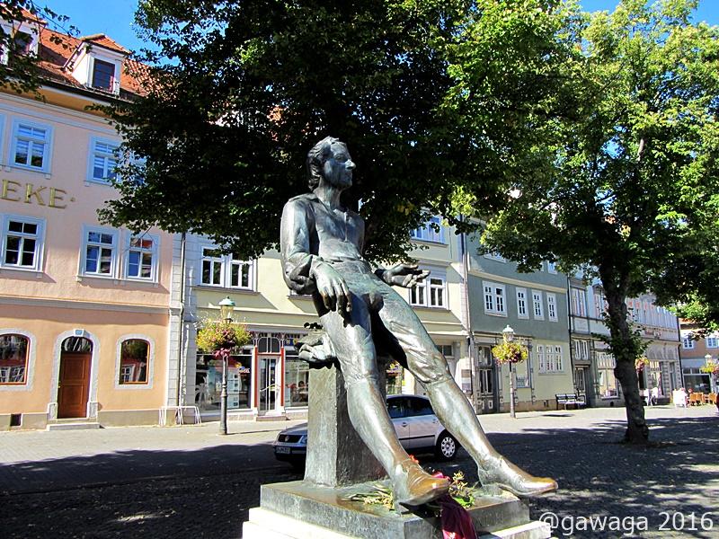 Bachdenkmal am Marktplatz