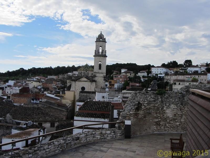 Blick vom Castillo auf den Ort