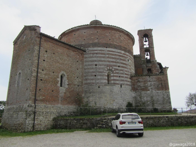 Capella de Monte Siepi oberhalb der Abtei